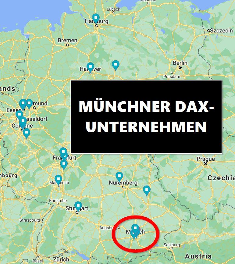 Aktien-Gesellschaften in München Dax, MDax und SDax