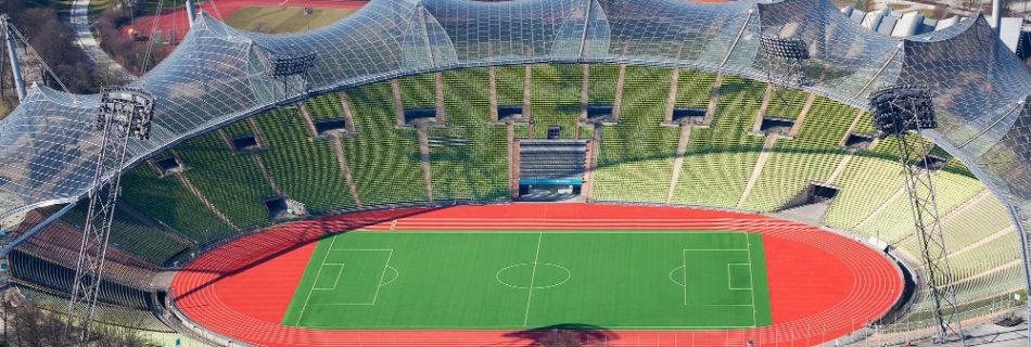 Fußball in München - Olympiastadion