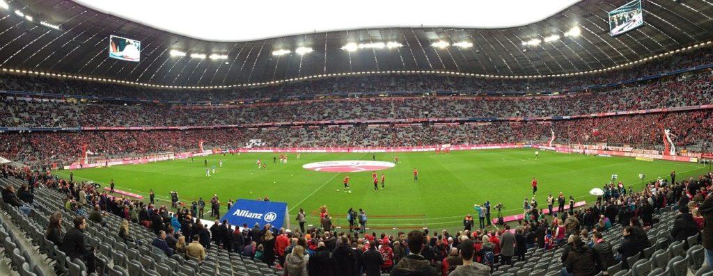 Fußball in München - Allianz Arena - Bayern München